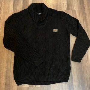 Men's Dolce & Gabbana XXL cable knit sweater